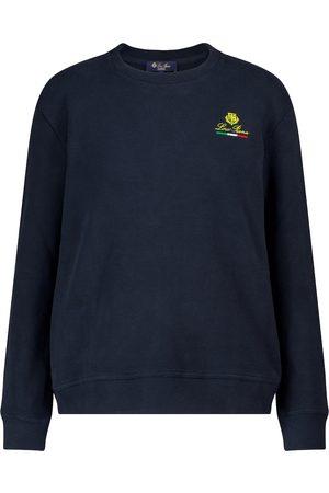 Loro Piana Kvinder Sweatshirts - Horsey cotton sweatshirt