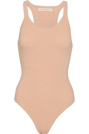 Live The Process Kvinder Bodies - Tank stretch-knit bodysuit
