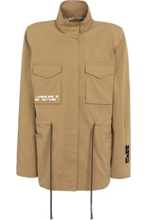 Off-White Kvinder Jakker - Printed gabardine jacket