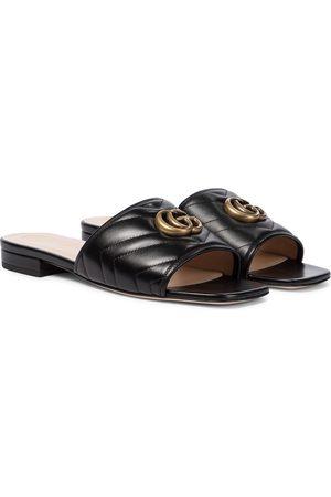 Gucci Kvinder Sandaler - Double G leather sandals
