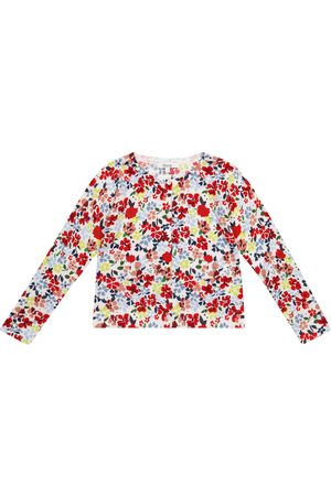 BONPOINT Floral cotton cardigan