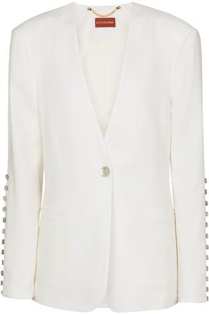 Altuzarra Kvinder Blazere - Fern linen-blend blazer