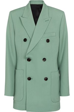 Ami Double-breasted wool blazer