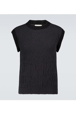 Jil Sander Mænd Veste - Knitted cotton vest