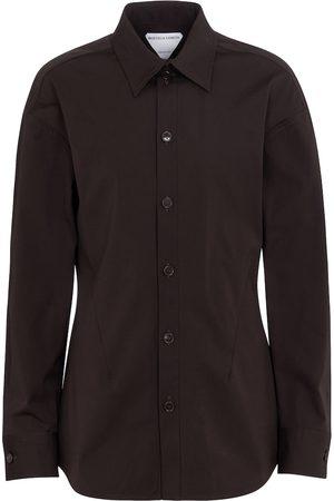 Bottega Veneta Stretch cotton poplin shirt