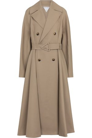 Bottega Veneta Kvinder Trenchcoats - Cotton trench coat
