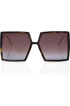 Dior Kvinder Solbriller - 30Montaigne SU oversized sunglasses