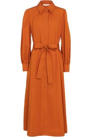 Tory Burch Kvinder Casual kjoler - Cotton shirt dress