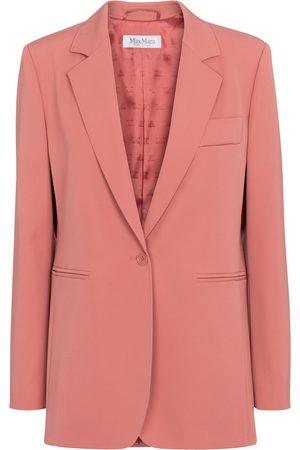 Max Mara Kvinder Blazere - Accorta single-breasted wool blazer