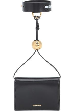Jil Sander Band leather wallet