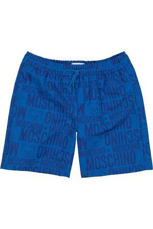 Moschino Drenge Badeshorts - Logo swimming shorts