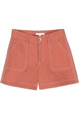 Chloé Piger Shorts - Stretch-cotton shorts