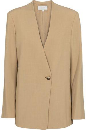 Vince Kvinder Blazere - Wool-blend blazer