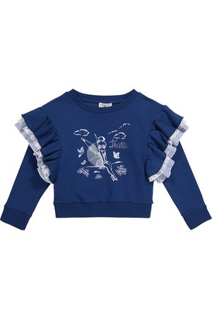 MONNALISA Piger Sweatshirts - X Disney® cotton-blend sweater