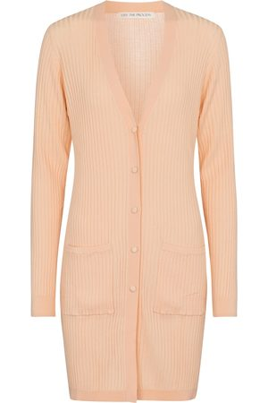LIVE THE PROCESS Ribbed-knit longline cardigan