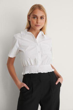 NA-KD Kvinder Kortærmede - Kortærmet Skjorte