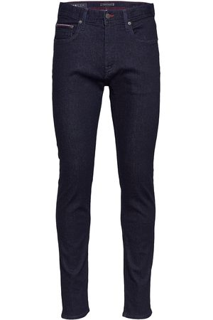 Tommy Hilfiger Mænd Slim - Core Slim Bleecker Ohio Rinse Slim Jeans Sort