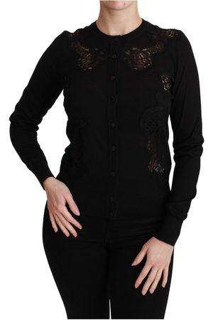 Dolce & Gabbana Cashmere Lace Cardigan Sweater