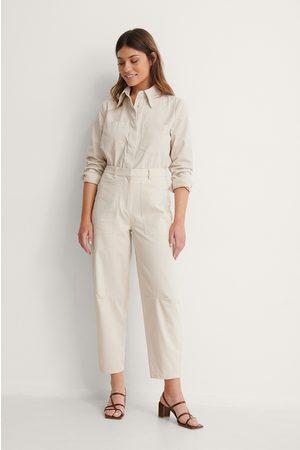 NA-KD Kvinder Cargo bukser - Soft Cotton Cargo Pants