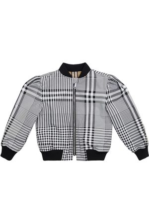 Burberry Vintage Check reversible bomber jacket
