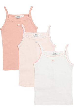 BONPOINT Set of 3 cotton jersey camisoles