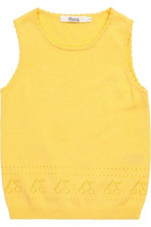 BONPOINT Pointelle cotton sweater vest
