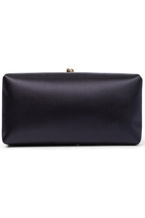 Jil Sander Goji Small satin clutch