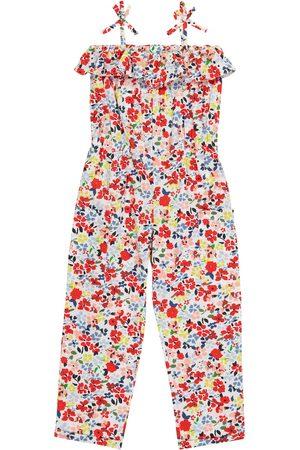BONPOINT Shannon floral cotton jumpsuit