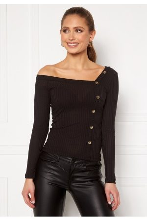 Chiara Forthi Flariana button top Black XS