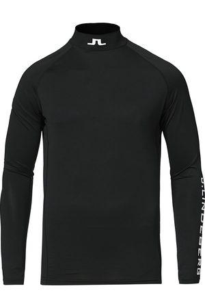 J Lindeberg Mænd Langærmede - Aello Soft Compression Tee Black