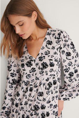 NA-KD Kvinder Mønstrede kjoler - Kjole Med Print