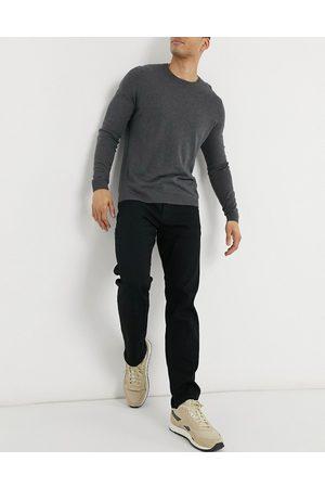 jack & jones Intelligence - Mike - Sorte jeans med lige pasform