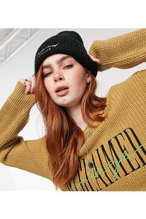 Reclaimed Vintage Inspired - Patentstrikket trøje i ingefærfarve-Brun