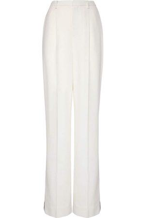 Ralph Lauren Kvinder Blazere - Lurex Wool Crepe Tuxedo Pants