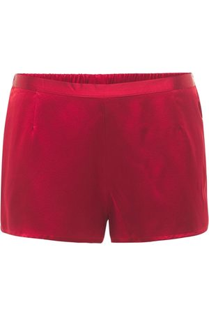 LA PERLA Silk Satin Shorts