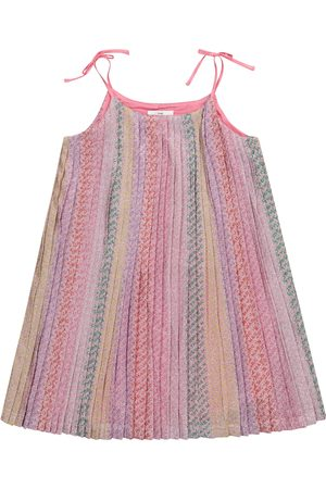 The Marc Jacobs Pleated logo dress