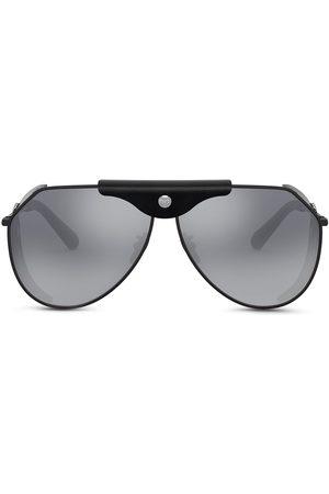 Dolce & Gabbana Eyewear Rektangulære solbriller med logoplade
