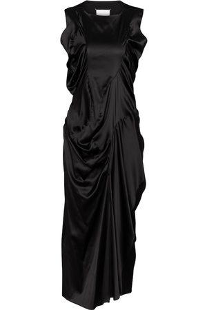 Maison Margiela Stretch-silk satin midi dress