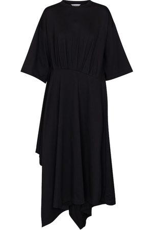 Balenciaga Kvinder Midikjoler - Pleated T-shirt dress