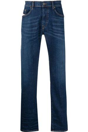 Diesel Mid rise straight-leg jeans