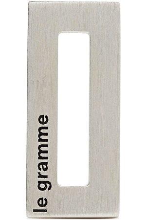 Le Gramme Mænd Halskæder - Rektangulært vedhæng med logo-indgravering