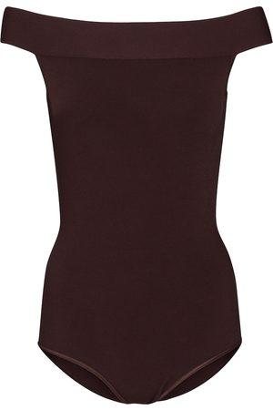 Alaïa Off-shoulder bodysuit