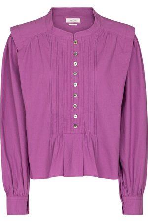 Isabel Marant, Étoile Kvinder Bluser - Okina cotton poplin blouse