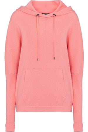 Tom Ford Kvinder Strik - Ribbed-knit cashmere-blend hoodie