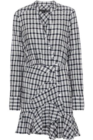 Veronica Beard Sherry gingham minidress