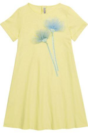 Il Gufo Kvinder Casual kjoler - Embroidered cotton jersey dress