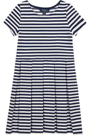 Polo Ralph Lauren Kids Striped cotton-blend knit dress
