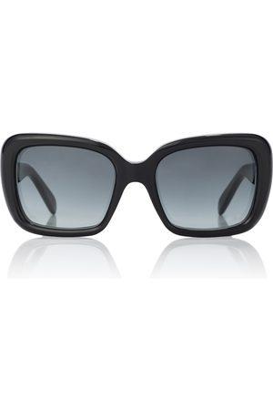 Celine Eyewear Rectangular acetate sunglasses