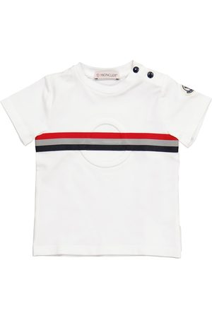 Moncler Enfant Kortærmede - Baby stretch-cotton T-shirt