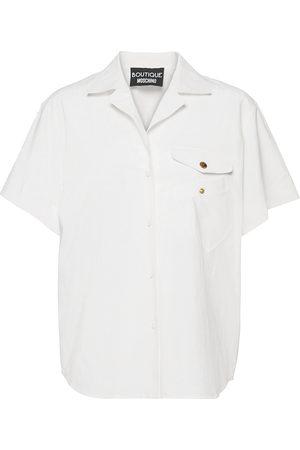 Moschino Kvinder Kortærmede - Crazy Pockets Blouse Kortærmet Skjorte